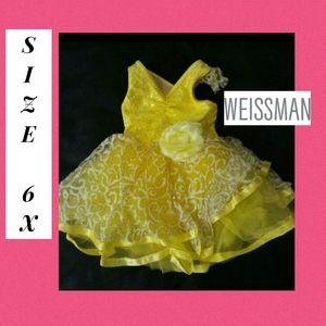 Weissman Girls SC Dress 6 6x